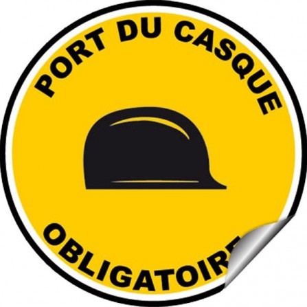 Sticker Interdiction - Interdit de passer sous la charge