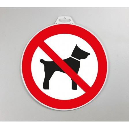 Disque d'interdiction - Interdit aux animaux
