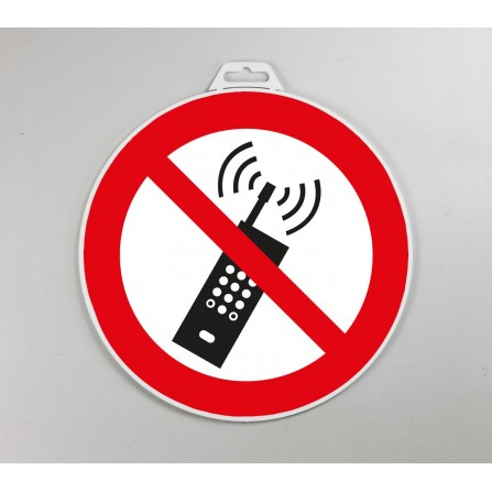 Disque d'interdiction rigide - Interdit de téléphoner