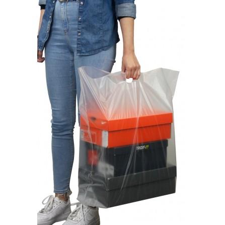 Sac plastique transparant XXL - Carton de 200