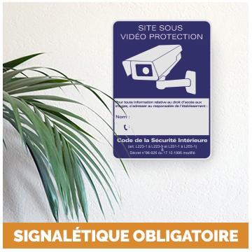 Signalétique obligatoire